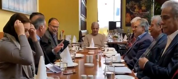 PML-N, senior, leaders, meet, Nawaz Sharif, London