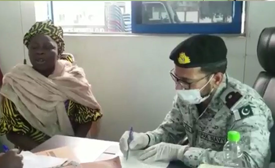 Pakistan Navy organizes medical camps in Lagos as good gesture