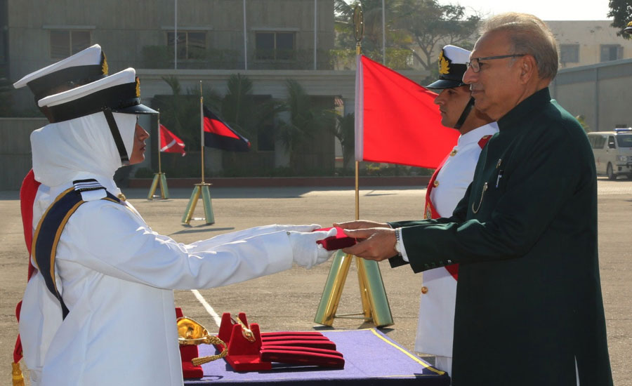Naval Academy played vital role in achieving peace in region: President