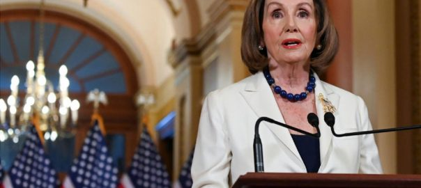 Pelosi impeachment Trump democracy stake at stake congressional committee
