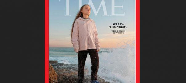 climate climate activist Geta Thunberg