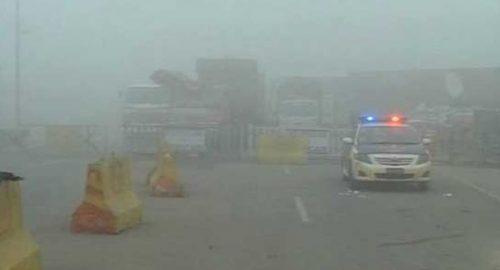 Plain, areas, Punjab, experiencing, intense fog, low, zero visibility, roads