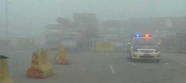 Plain, areas, Punjab, experiencing, intense fog, low, zero visibility, roads
