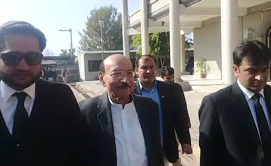 interim bail Qaim Ali Shah Qaim Ali Sindh former chief minister Roshan Sindh NAB inquiry NAB National Accountability Bureau dec 19