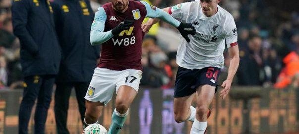 Villa Liverpool LONDON Reuters Aston Villa