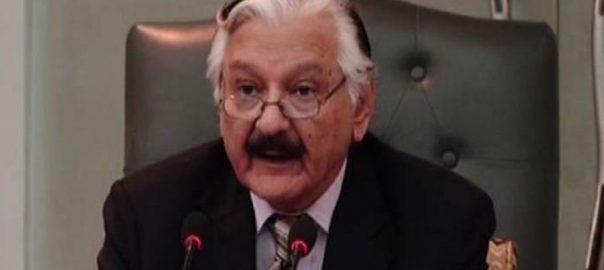 Chief Election Commissioner Sardar Raza ISLAMABAD Web desk