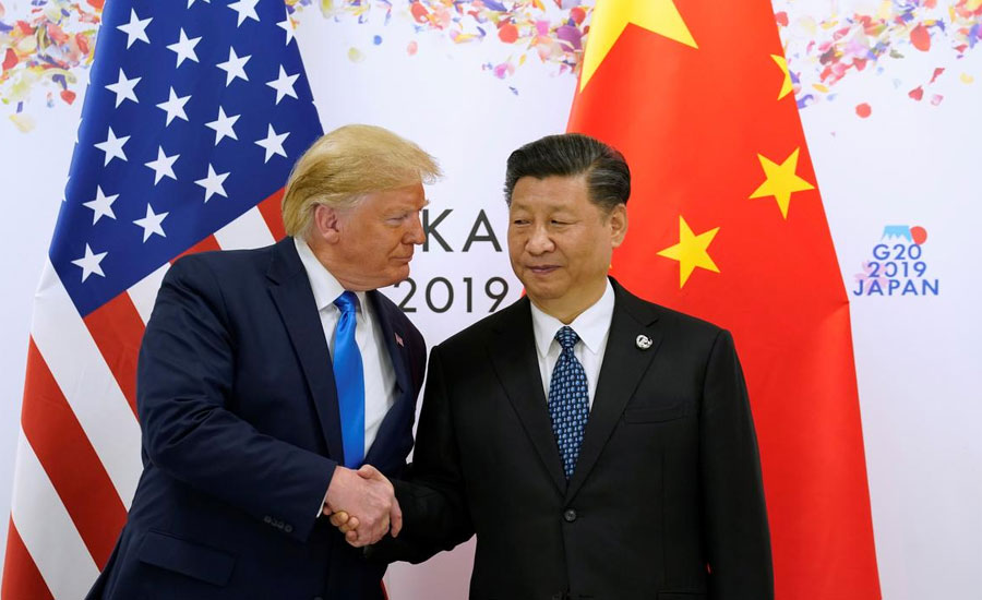 Trump says he and Xi will sign China trade deal
