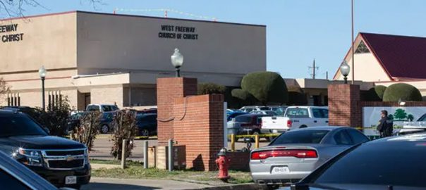 Texas church shooting media reports