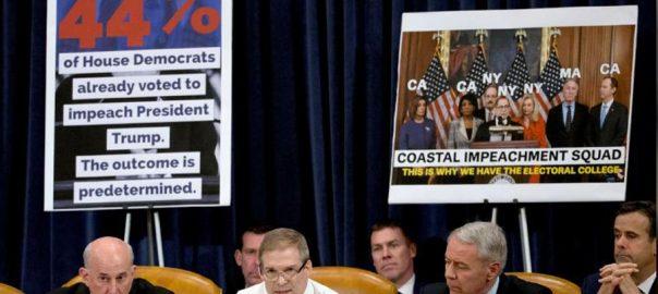US, lawmakers, debating, impeachment, articles, Trump