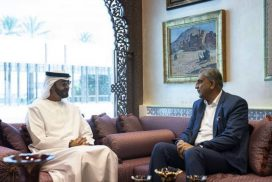 COAS Qamar Bajwa, Abu Dhabi crown prince, enhance, bilateral, cooperation