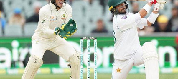 Yasir Shah Test Century Australia maiden Test ICC