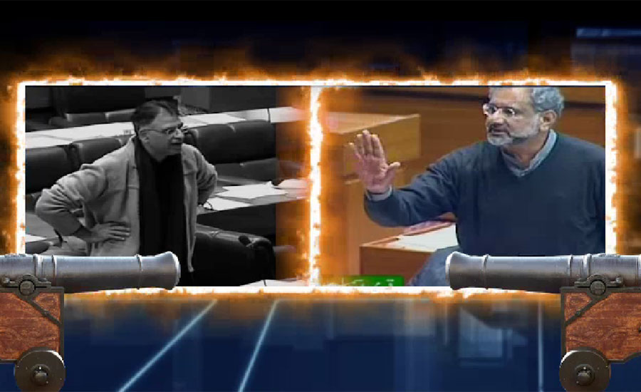 'I will not beg you: Khaqan Abbasi lashes out at NA speaker