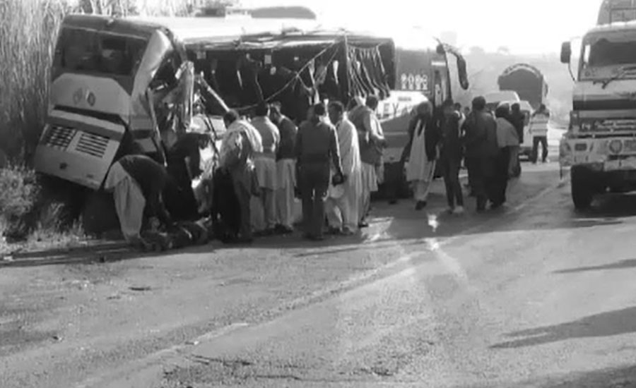 10 people killed Accidents Mianwali Tilagang