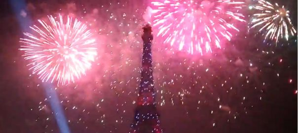 Bahria Town crowd Effiel Tower fireworks New Year pakistan