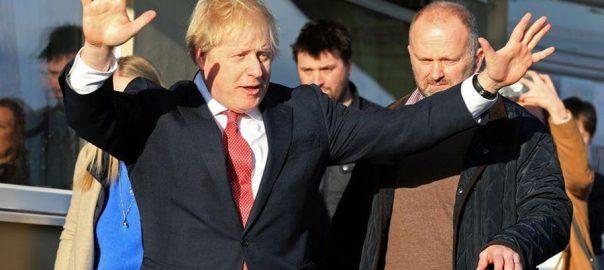 Johnson LONDON Reuters Prime Minister Boris Johnson
