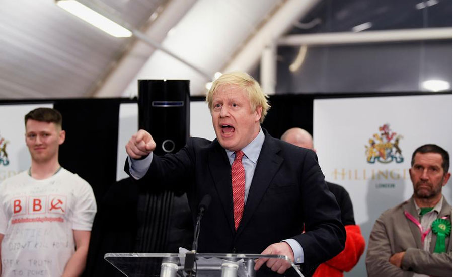 Prime Minister, Boris Johnson, election, victory, Britain , European Union