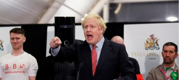 Let, Brexit, healing, Johnson, pledges, commanding, election victory