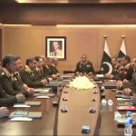 Corps Commanders Conference security situation Corps Commanders reviews Army chief COAS General Bajwa