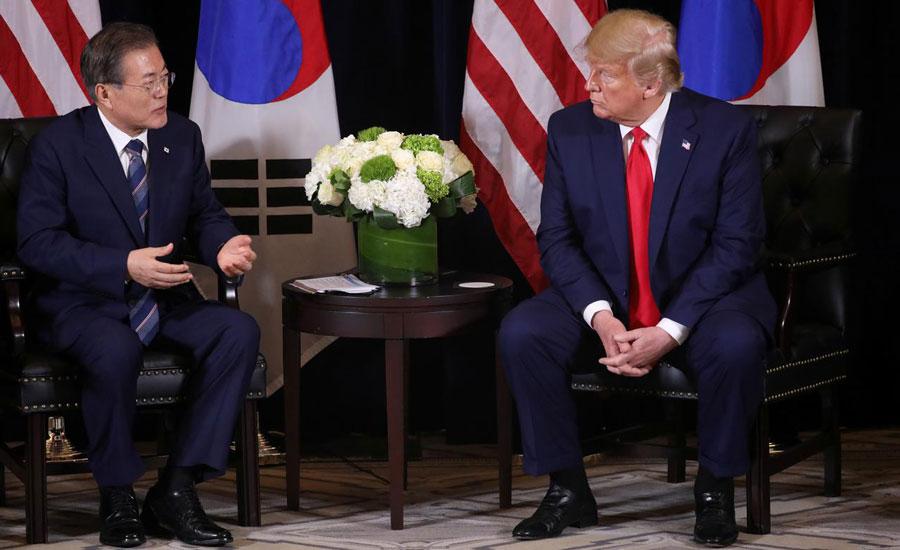 SEOUL,US, President, Donald Trump,South Korean, Moon Jae-,diplomacy ,North Korea