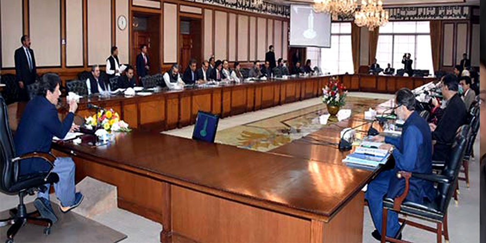 Federal cabinet meeting discusses nine-point agenda