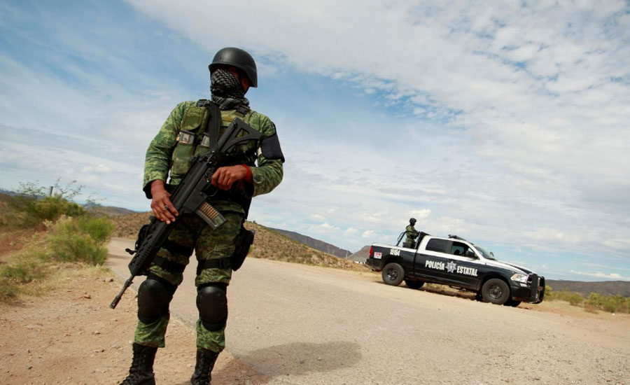 At least 14 killed in bloody gunfight in northern Mexico
