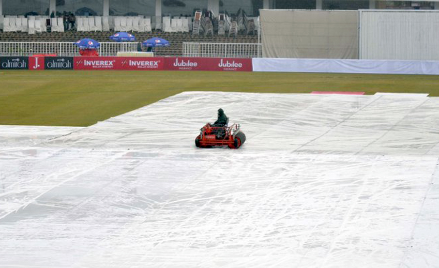 Fourth, day, Pakistan-Sri Lanka, Test, abandoned, wet, outfield