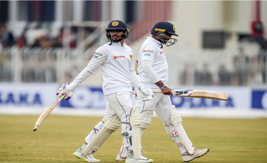 Rain, halts, play, 1st Test, Sri Lanka