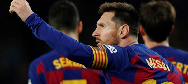 Lionel Messi, sixth Ballon D'Or award, hat-trick, Barcelona , La Liga, Real Mallorca