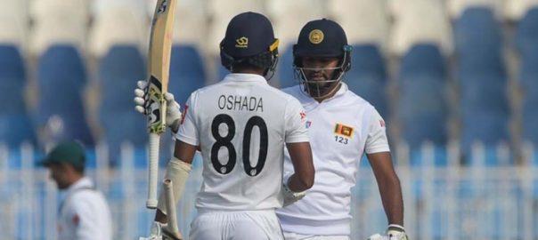 Pakistan Test Sri lanka wickets five wickets