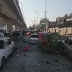 Three cops, CNG cylinder, blast, Peshawar High Court