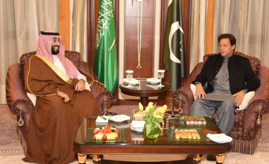 PM Imran discusses regional security, bilateral relations with Saudi Crown Prince