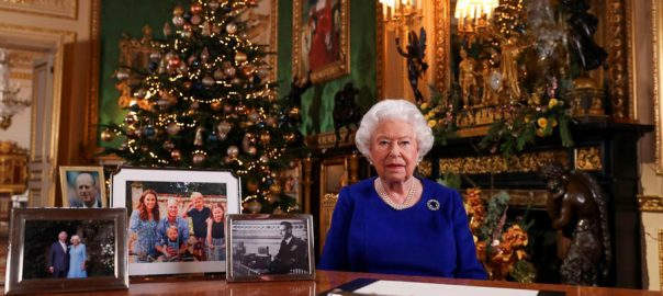 Queen Elizabeth, stresses, reconciliation, 'quite bumpy', 2019