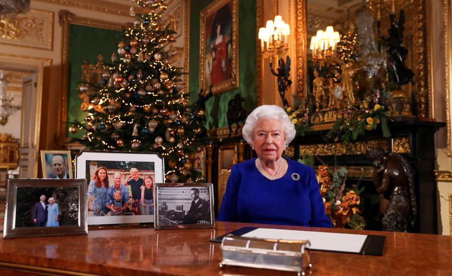 Queen Elizabeth stresses reconciliation after 'quite bumpy' 2019