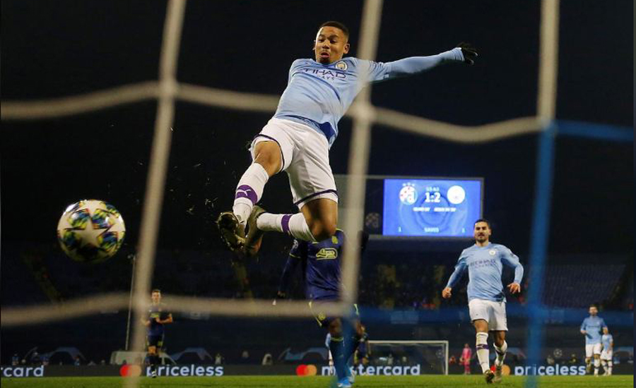 Gabriel Jesus, hat-trick, Man City, 4-1 win, Champions League