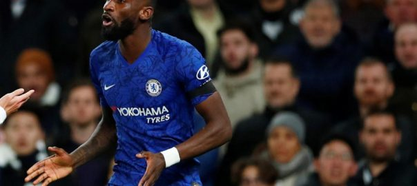 Chelsea Rudiger racist abusers LONDON Reuters Antonio Rudiger Tottenham