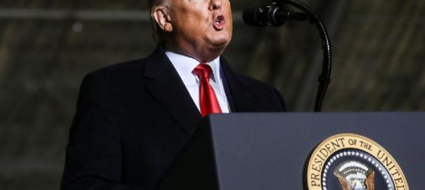 Trump, signs, spending, package, avert shutdown