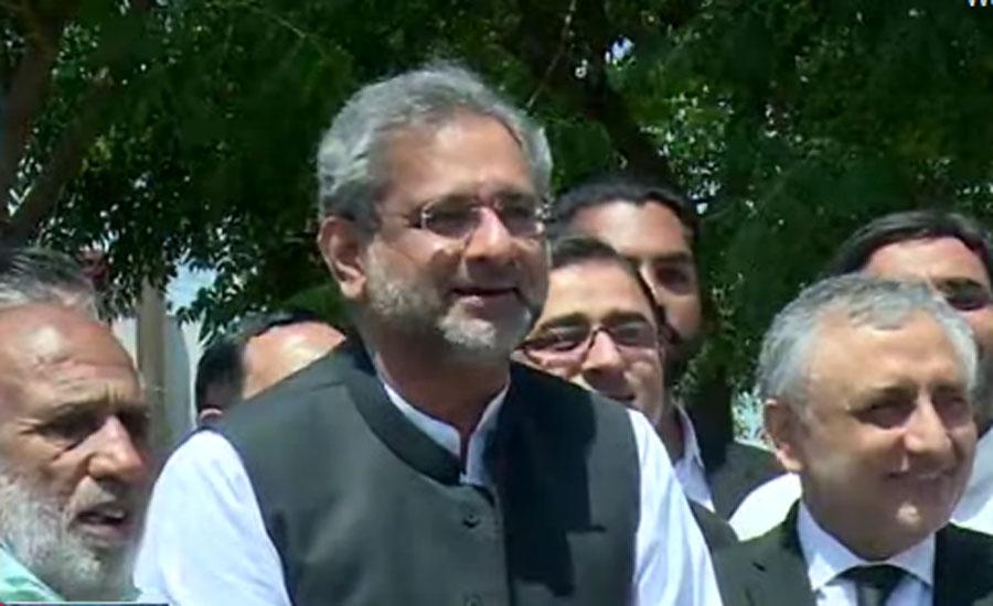 Khaqan Abbasi dismisses NCOC letter calling for delay in AJK polls