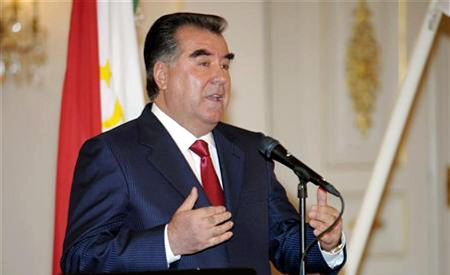 Tajikistan President Emomali Rahmon reaches Islamabad on two-day visit