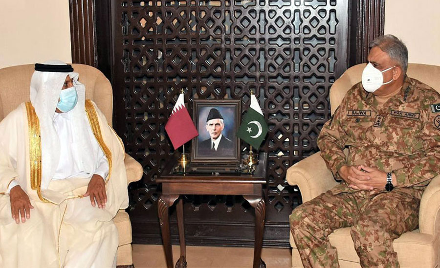 Army chief appreciates Qatar's support in various domains