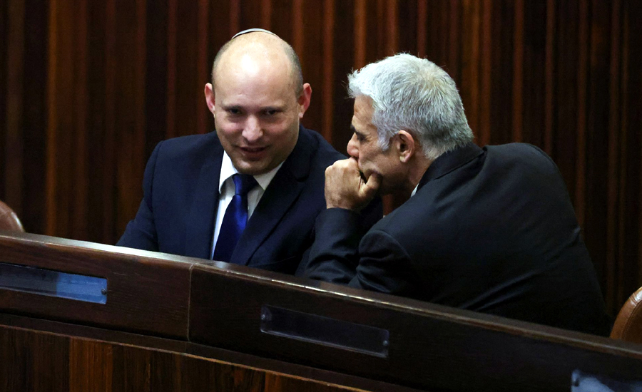 Israel's opposition declares new government, set to unseat Netanyahu