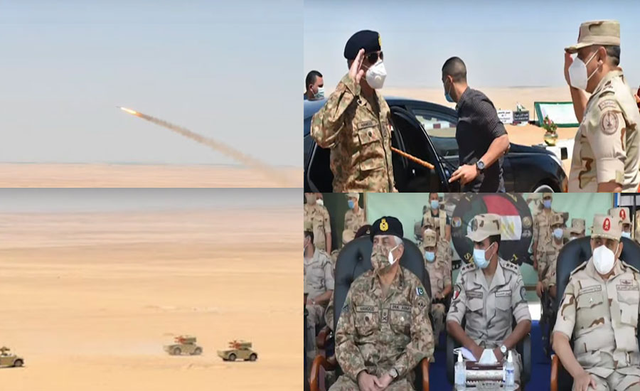 Pakistan-Egypt Joint Air Defence Exercise 'Sky Guards-1' concludes in Cairo