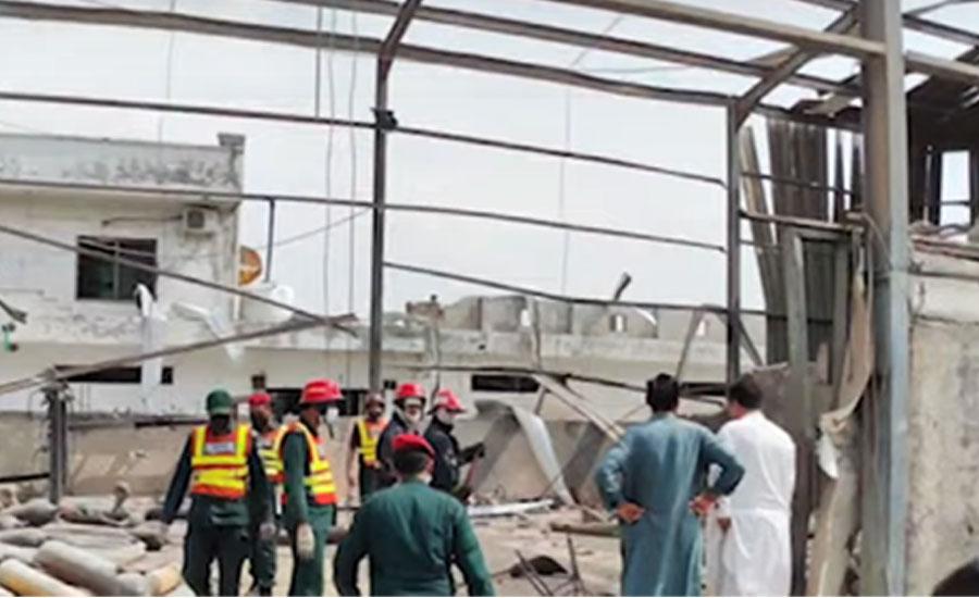 Two die in Rawalpindi cylinder blast