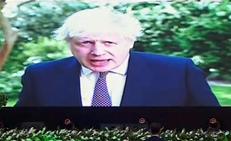 UK PM Boris Johnson lauds PM Imran Khan's steps with regard to environmental change