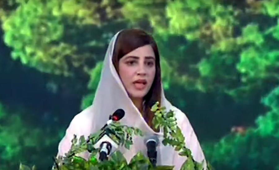 State Minister for Environment Zartaj Gul says one billions saplings planted