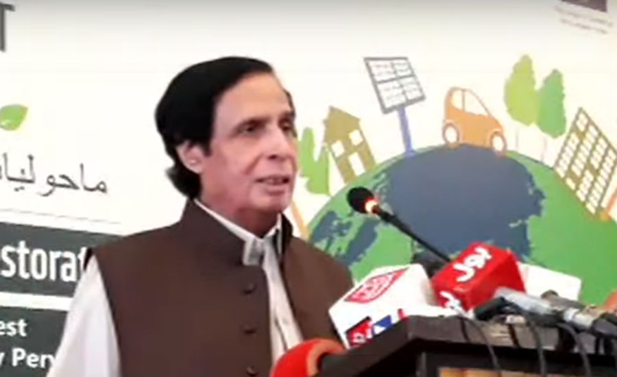 Govt took good steps for improving environment, says Pervaiz Elahi