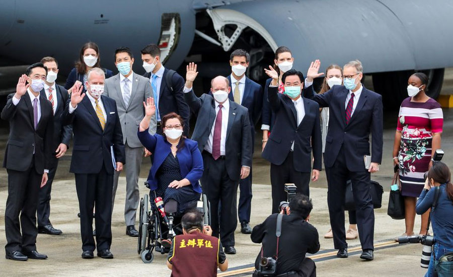 US boosts Taiwan's COVID-19 fight with 750,000 vaccine doses