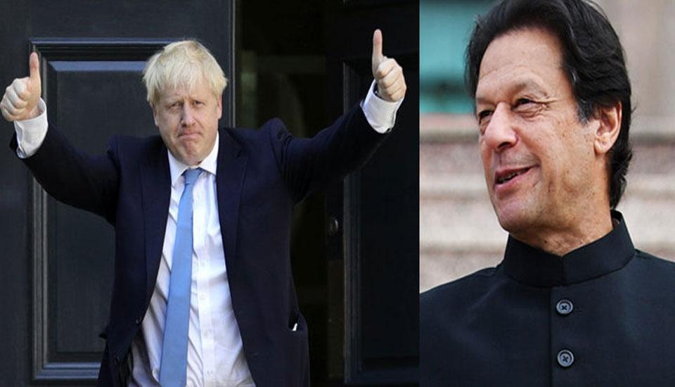 British PM Boris Johnson appreciates PM Imran for planting 10 billion trees