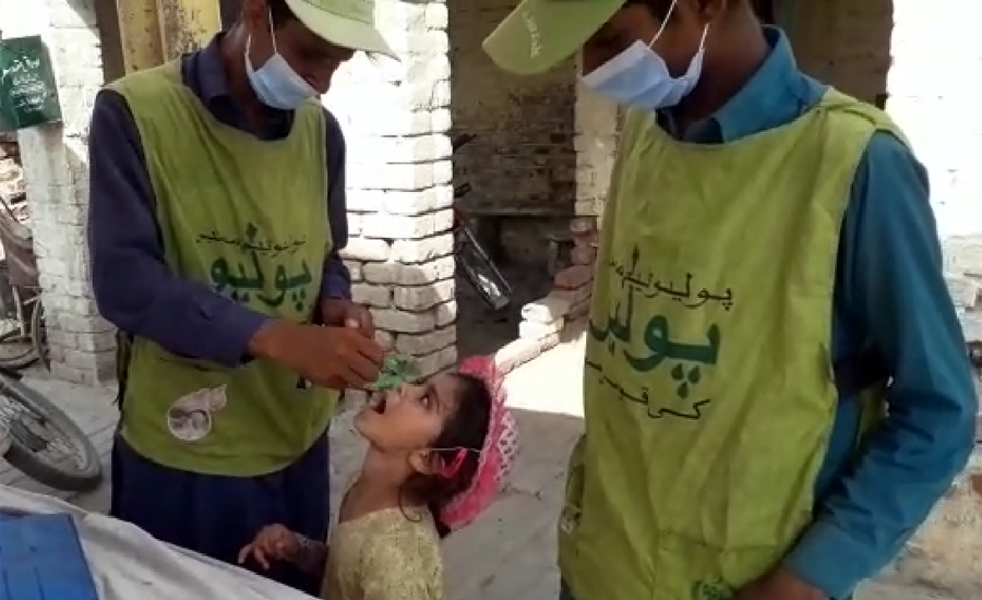Five-day anti-polio campaign starts in 124 districts across country