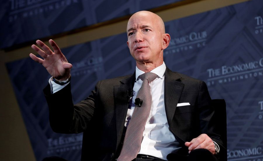 Jeff Bezos to fly to space on Blue Origin rocket