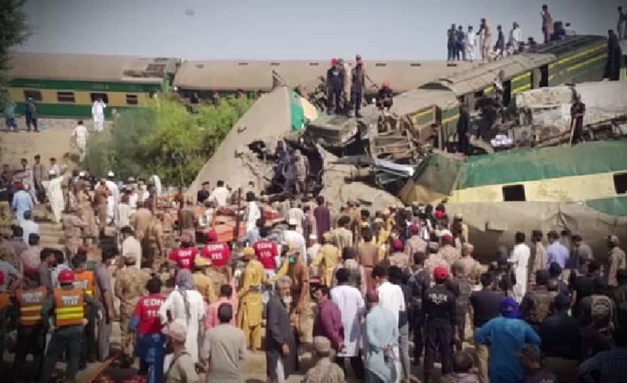 Death toll in Dharaki train accident increases to 63, rescue operation continues